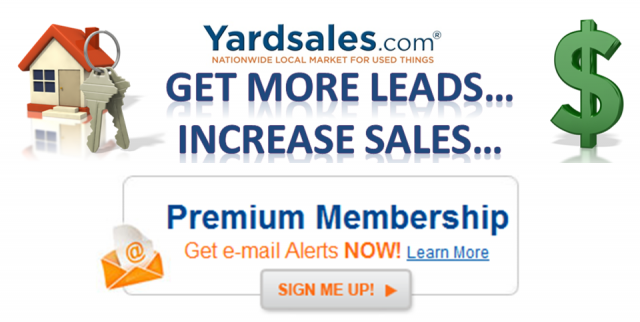 Yardsales.com Century21 Promo