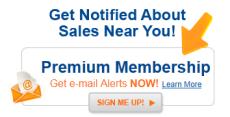 Yardsales.com Premium Alert Upgrades