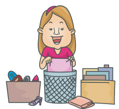 yard sales to declutter